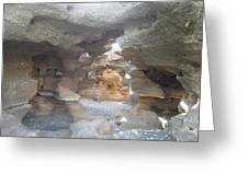 Rock Cave Greeting Card