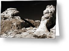 Rock Chatter Greeting Card