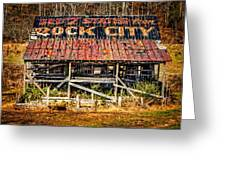 Rock City Greeting Card