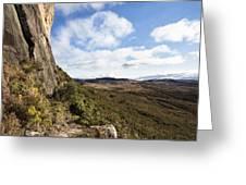 Rock Cliff Southern Madagascar Greeting Card