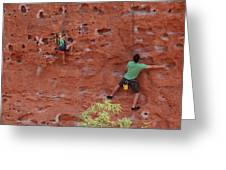 Rock Climbing 101 Greeting Card