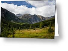 Rock Creek Canyon 1 Greeting Card by Roger Snyder