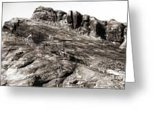 Rock Details Greeting Card