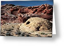 Rock Dwellings Greeting Card
