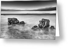 Ballycastle - Rock Face Greeting Card