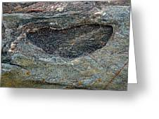 Rock Formation 1a Greeting Card