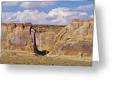 Rock Formations At Capital Reef Greeting Card