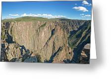 Rock Formations In Black Canyon Greeting Card