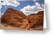 Rock Formations Valley Of Fire Greeting Card by Jane Rix