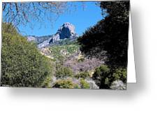 Rock In California Greeting Card