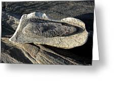 Rock In Rock Greeting Card