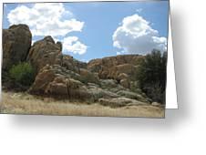 Rock N Clouds  Greeting Card