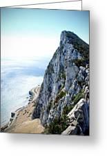 Rock Of Gibraltar Greeting Card