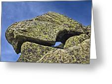 Rock Puzzle Greeting Card
