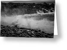 Rock Shore Greeting Card