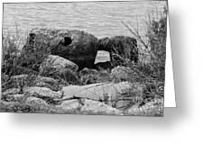 Rock Shoreline Greeting Card