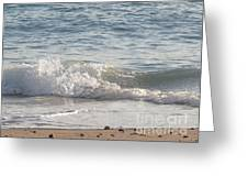 Rock-strewn Beach Greeting Card
