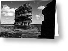 Rock Greeting Card by Tony Reddington