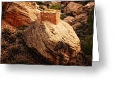 Rock Tower Greeting Card