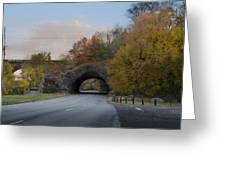 Rock Tunnel - Kelly Dive Greeting Card