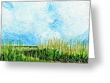 Rockefeller Coastal Marsh Louisiana  Greeting Card