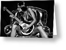 Rocker Chic Greeting Card