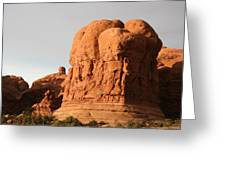 Rockformation Arches Park Greeting Card