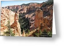Rockformation At Bryce Canyon  Greeting Card