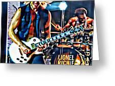 Rockin Guitarist Greeting Card
