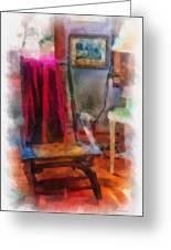Rocking Chair Photo Art Greeting Card