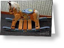 Rocking Horse Greeting Card
