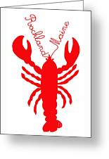 Rockland Maine Lobster With Feelers 20130605 Greeting Card