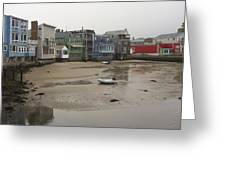 Rockport At Low Tide Greeting Card