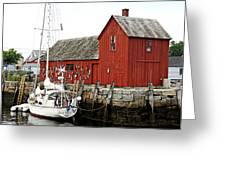 Rockport - Motif Number 1 Greeting Card