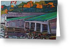 Rockport Roofs Greeting Card