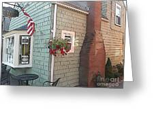 Rockport Streetscape Greeting Card