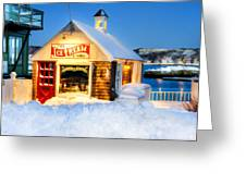 Rockport Winter Greeting Card