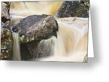 Rocks And Rapids #2 Greeting Card