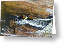Rocks And Rapids Greeting Card