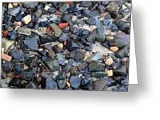 Rocks And Stones Greeting Card