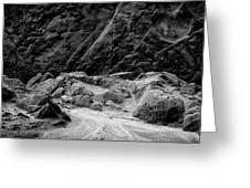 Rocks At Pt. Lobos Greeting Card