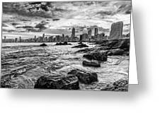 Rocks By The Sea Greeting Card