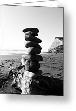 Rocks In Balance Greeting Card
