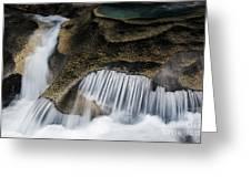 Rocks In Paradise Greeting Card