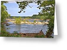 Rocks In The River Greeting Card