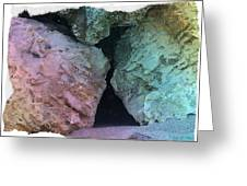 Rocks Of Color Greeting Card