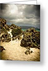 Rocks Of Elafonisi Greeting Card