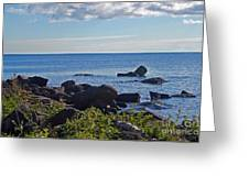 Rocks Of Lake Superior Greeting Card