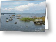 Rocks On The Baltic Sea Greeting Card
