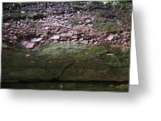 Rocks - Parfreys Glen - Wisconsin Greeting Card